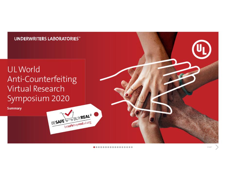 2020 Anti-Counterfeiting Virtual Research Symposium Interactive White Paper