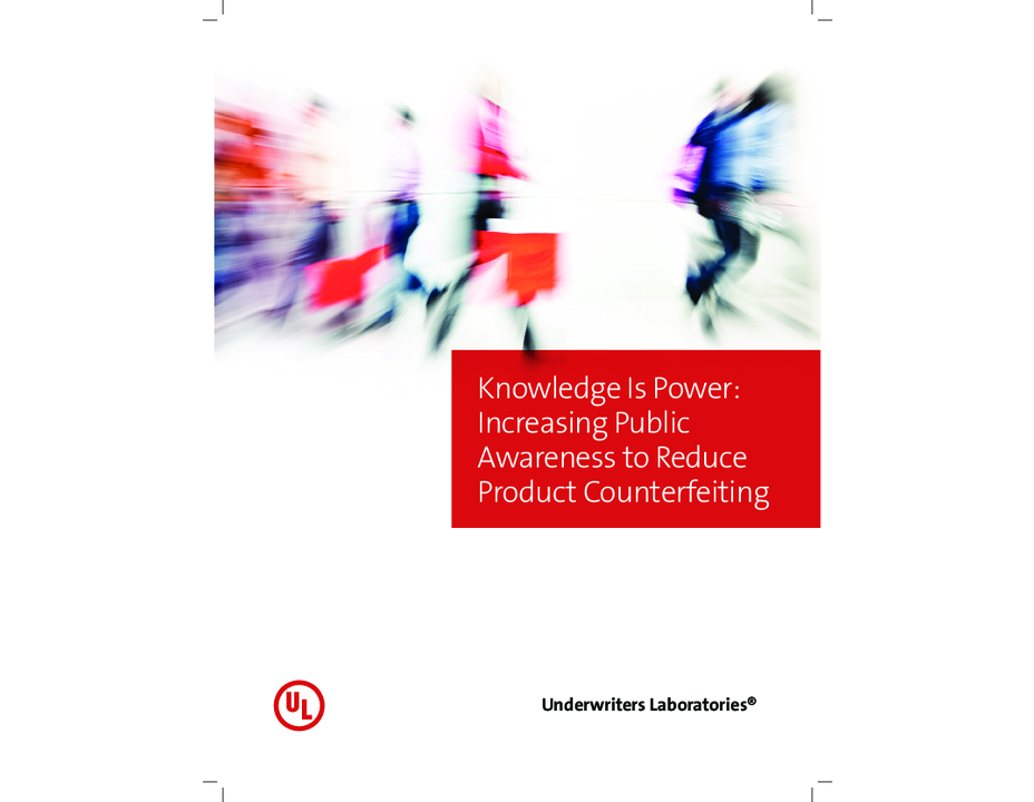 Knowledge is Power: Increasing Public Awareness to Reduce Product Counterfeiting