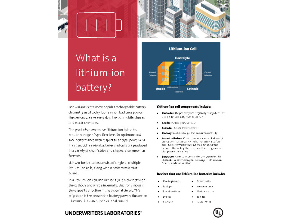 What is a Lithium-Ion Battery? (Introduction)