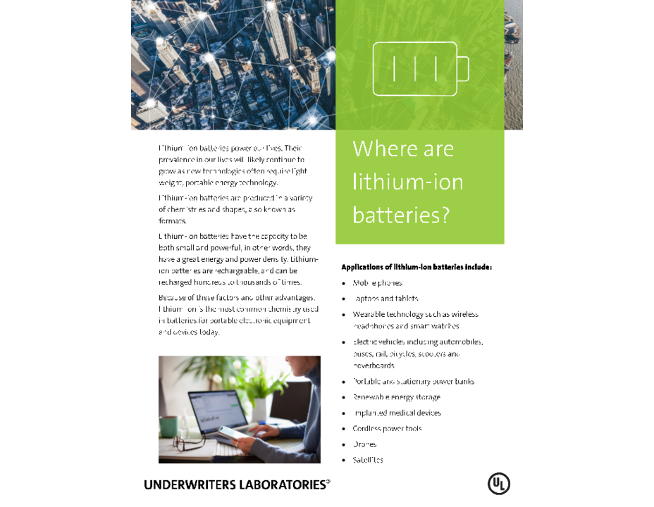 Where Are Lithium Ion Batteries? (Introduction)