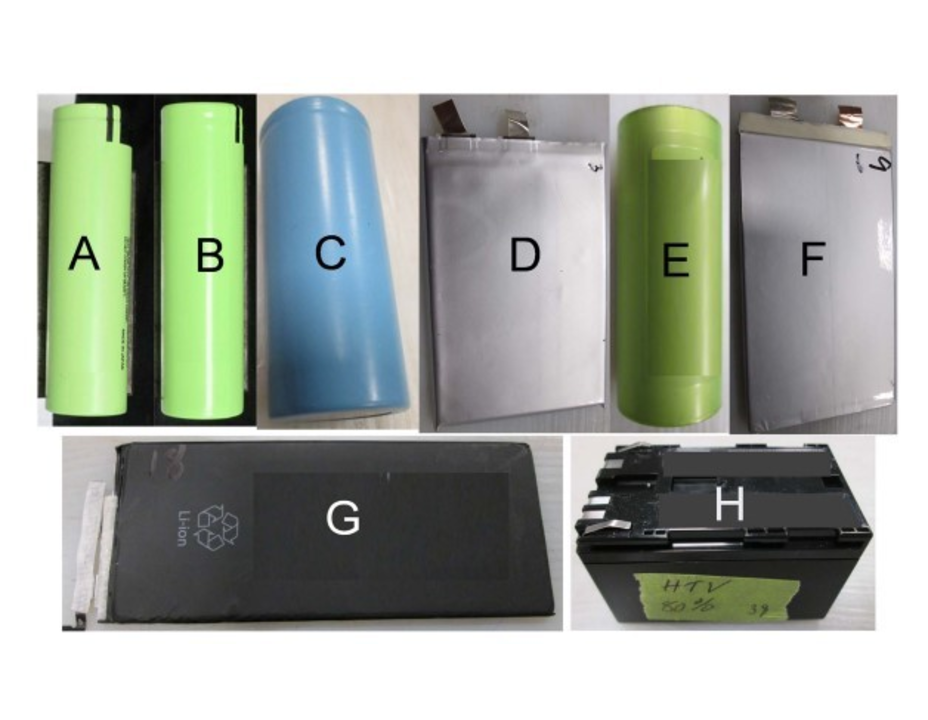 Safety of Lithium-Ion Cells and Batteries at Different States-of- Charge
